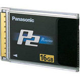 Panasonic 16GB P2 High Performance Card $25 day / $75 week  / $250 per month