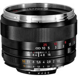 Zeiss 50mm F/1.4 ZF $40 day / $120 week  / $400 per month