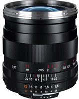 Zeiss ZF.2 25mm F/2.8 $40 day / $120 week  / $400 per month