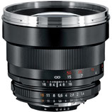 Zeiss 85mm f/1.4 ZF.2 Lens $40 day / $120 week  / $400 per month