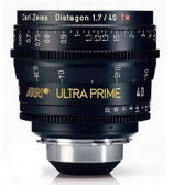 Ultra Prime 40mm T1.9 -$175 day /$525 week          / $1,750 per month