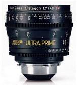 Ultra Prime 40mm T1.9 -$175 per day