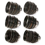 Zeiss Super Speeds MK II Set of 5 (18mm, 25, 35, 50, 85) - Coated $500 day / $1500 week    / $5000 per month