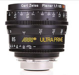 Ultra Prime 85mm T1.9 -$175 day /$525 week          / $1,750 per month