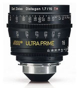 Ultra Prime 16mm T1.9 -$175 day /$525 week          / $1,750 per month
