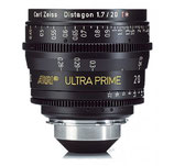 Ultra Prime 20mm T1.9 -$175 day /$525 week          / $1,750 per month