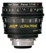 Ultra Prime 65mm T1.9 -$175 day /$525 week          / $1,750 per month