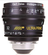 Ultra Prime 32mm T1.9 -$175 day /$525 week          / $1,750 per month