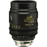 Cooke 100mm T2.8 Mini S4/i Lens $115 day / $345 week    / $1150 per month