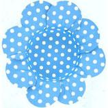 Bonbonvormpje bloem met wit stip