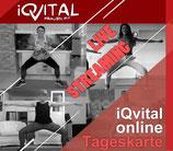 Einzelkarte Dein iQvital Online-Kurs: Training zuhause