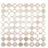 Spiegel Doré, Metall, 81,5x81,5x3 cm