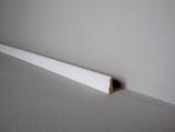 """SL 155 """"Luxemburg"""" Scheuerleiste 2,70 Meter 9/26 weiß lackiert"""
