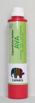 Caparol - AVA Amphibolin Vollton- und Abtönfarbe für außen und innen - Farbton rot 750ml