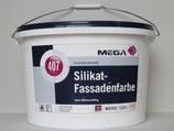Silikat-Fassadenfarbe Mega 407 / Top Fassadenfarbe / Profi-Qualität
