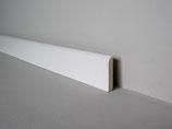 """Valletta"" Sockelleiste  2,70 Meter 10/60 weiß lackiert"