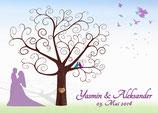 Ihr Hochzeitsbaum im Schaufenster Ihr ideales Hochzeitsgeschenk