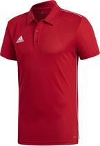 Adidas Core 18 Polo - rot