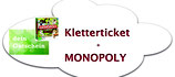 Klettergutschein und MONOPOLY