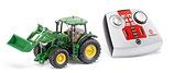 Traktor mit Frontlader SIKU CONTROL + monkeyman-Kletterticket für eine(n) Jugendliche(n)