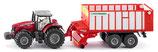 SIKU Traktor mit Pöttinger + monkeyman-Kletterticket für ein Kind