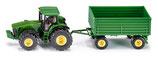 SIKU Traktor mit Anhänger + monkeyman-Kletterticket für ein Kind