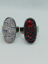 Statement Ring Swarovski-Kristalle