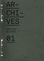 """ARCHIVES CHRISTIAN BOLTANSKI 01."" - Bob Calle - Edition couverture souple"