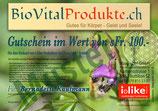"""Gutschein für i-like Produkte """"Frühling"""""""