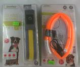 LED Hundeleuchtband / Halsband