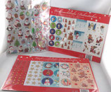 Wihnachtliche Dekosticker
