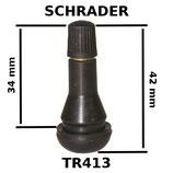 VALVE SCHRADER TUBELESS TR413
