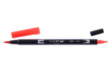 Pennarello Dual Brush Tombow col. 845 Carmine