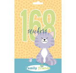 168 Stickers Family Friends Cat
