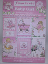 Blocco  Baby Girl Stamperia 16x11 cm