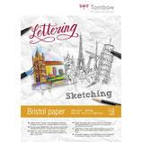 Album Carta Da Disegno Per Skeching e Lettering Tombow