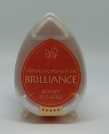 Brilliance Tsukineko  Rocket Red Gold