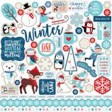 Sticker celebrate Winter Echo park