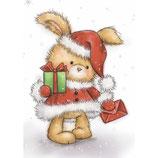 Christmas Bunny Cl 425