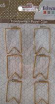 Paper Clips Tag Artemio