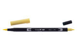 Pennarello Dual Brush Tombow col. 062 Pale Yellow