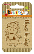 Basik's New Adventure - Happy Holidays