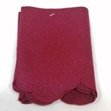 Panno  Smerlato Bordeaux H 15 cm