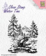 Winter Waterfall Ct014 Timbro Nellies
