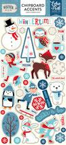 Chipboards Celebrate Winter Echo Park