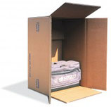 Baggage-Karton, 8 cuft, braun, Qual. 2.95