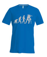 "T-SHIRT H ""EVOLUTION DE L'HOMME"""