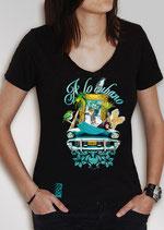 """Tee shirt """"A LO CUBANO"""" femme"""
