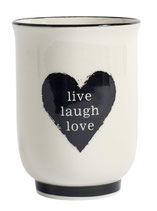 Becher Live,Laugh,Love