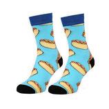 Socken mit HotDogs
